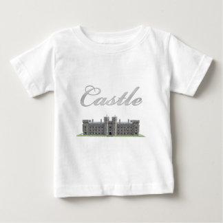 T-shirt Pour Bébé Château britannique classique avec le texte de