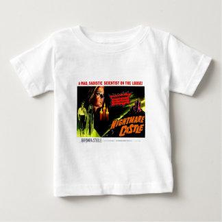 T-shirt Pour Bébé Château de cauchemar