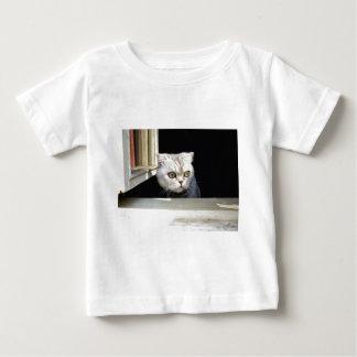 T-shirt Pour Bébé Chaton drôle