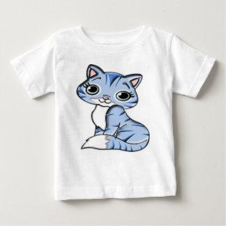 T-shirt Pour Bébé Chaton lunatique