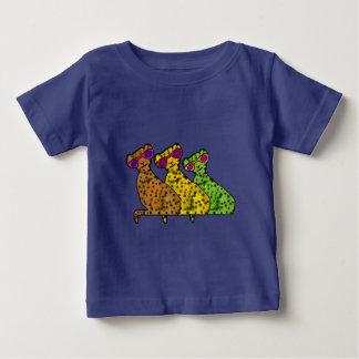 T-shirt Pour Bébé Chats frais de guépard