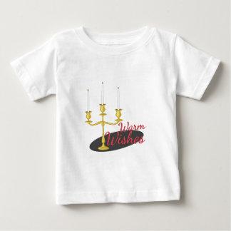 T-shirt Pour Bébé Chauffez les souhaits