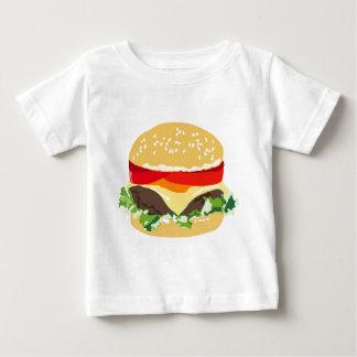 T-shirt Pour Bébé Cheeseburger américain