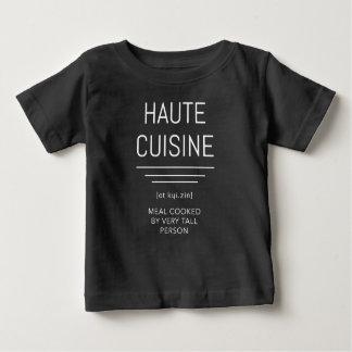 T-shirt Pour Bébé Chef français drôle de haute cuisine