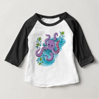 T-shirt Pour Bébé Chemise américaine d'habillement d'Olive-le-Poulpe