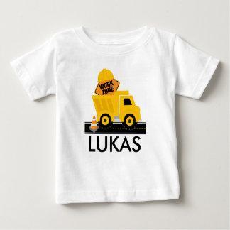 T-shirt Pour Bébé Chemise d'anniversaire de zone de travaux de