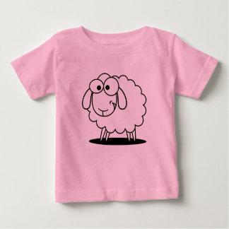 T-shirt Pour Bébé Chemise de bébé avec des moutons