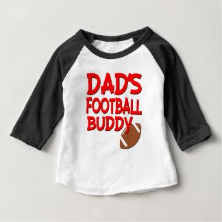 T-shirt Pour Bébé Chemise de bébé d'ami du football du papa