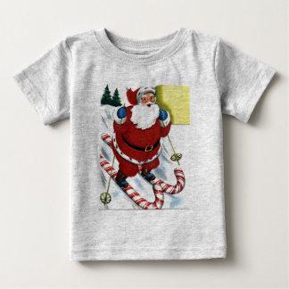 T-shirt Pour Bébé chemise de bébé de père Noël
