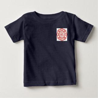 T-shirt Pour Bébé Chemise de corps de sapeurs-pompiers d'enfant en