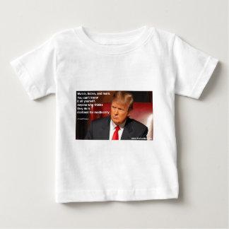 T-shirt Pour Bébé Chemise de Donald Trump, chemise politique,