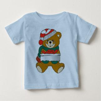 T-shirt Pour Bébé Chemise d'ours de Noël