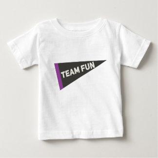 T-shirt Pour Bébé Chemise du fanion de l'enfant d'amusement d'équipe