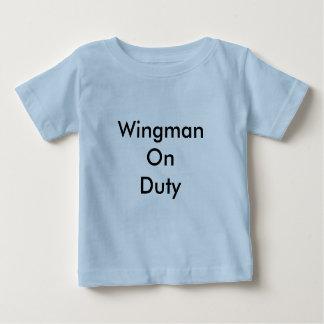 T-shirt Pour Bébé Chemise en service de Wingman