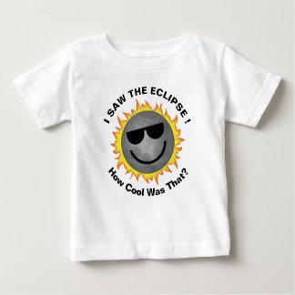 T-shirt Pour Bébé Chemise fraîche d'éclipse de bébé