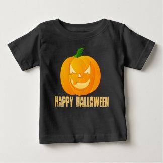 T-shirt Pour Bébé Chemise heureuse de bébé de citrouille de