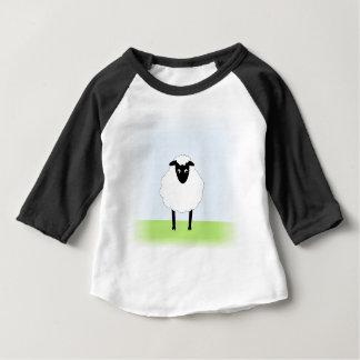 T-shirt Pour Bébé Chemise lunatique de bébé de moutons