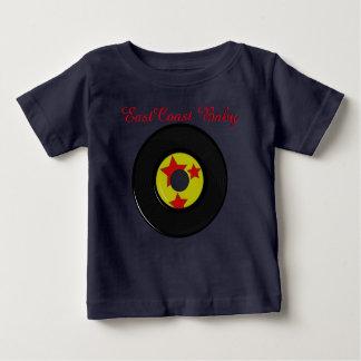 T-shirt Pour Bébé Chemise mignonne de base-ball de disque de musique