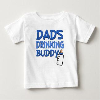 T-shirt Pour Bébé Chemise potable de bébé de l'ami du papa