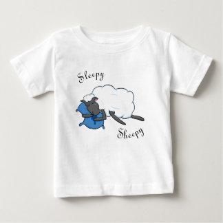 T-shirt Pour Bébé Chemise somnolente de bébé de Sheepy