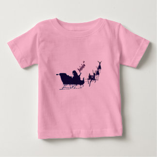 T-shirt Pour Bébé Chemisette boit, Noël, Pape Noel