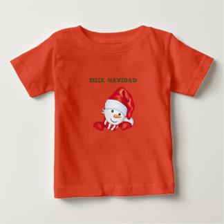 T-shirt Pour Bébé CHEMISETTE DE NOËL HEUREUSE MARIONNETTE de