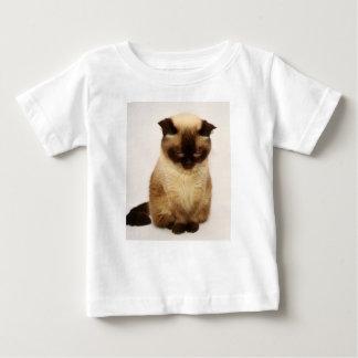 T-shirt Pour Bébé Cheveux courts britanniques de Mieze de Shorthair