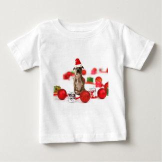 T-shirt Pour Bébé Chien de pitbull avec des ornements de