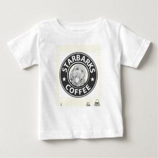 T-shirt Pour Bébé chien Starbucks