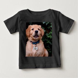 T-shirt Pour Bébé Chiot de golden retriever