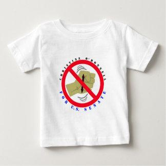 T-shirt Pour Bébé Christine pour le sénat