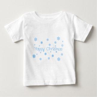 T-shirt Pour Bébé christmas01 heureux
