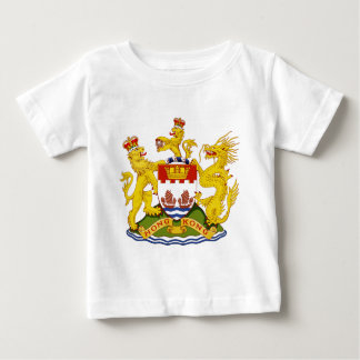 T-shirt Pour Bébé Coat_of_arms_of_Hong_Kong_ (1959-1997)