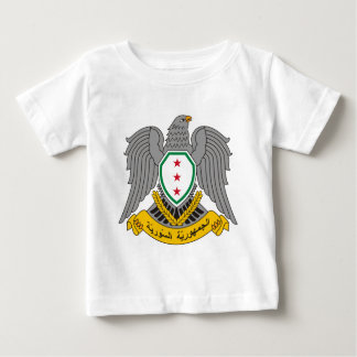 T-shirt Pour Bébé Coat_of_arms_of_Syria-1957