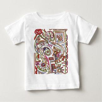 T-shirt Pour Bébé Coloré musical lunatique - art abstrait