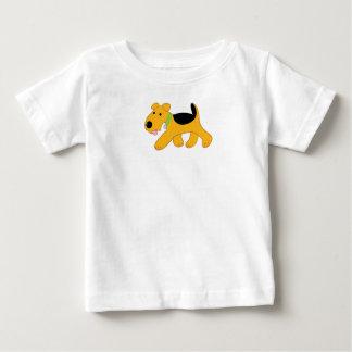 T-shirt Pour Bébé Combinaison mignonne du Jersey de bébé de chiot de