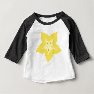 T-shirt Pour Bébé conception de fruit d'étoile mignonne