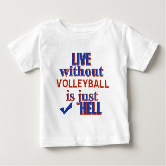 T-shirt Pour Bébé Conception de VOLLEYBALL
