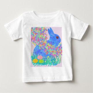 T-shirt Pour Bébé Conception lunatique de Pâques