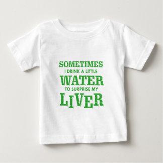 T-shirt Pour Bébé Conceptions drôles de foie