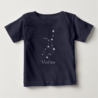 T-shirt Pour Bébé Constellation personnalisée de zodiaque de Vierge