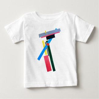 T-shirt Pour Bébé Construction de Suprematistic par Kazimir Malevich