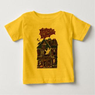 T-shirt Pour Bébé Copie hantée mignonne de bijou de Faux de Chambre