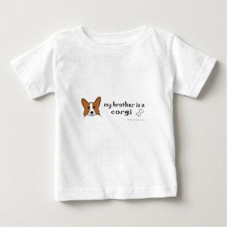 T-shirt Pour Bébé corgi