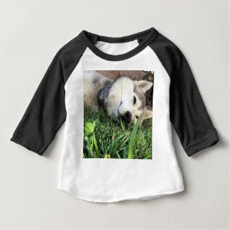 T-shirt Pour Bébé Costaud heureux