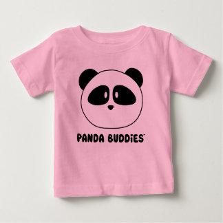 T-shirt Pour Bébé Couleurs claires d'amis de panda de bébé