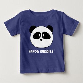 T-shirt Pour Bébé Couleurs foncées d'amis de panda de bébé