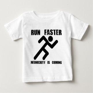 T-shirt Pour Bébé Courez plus rapidement
