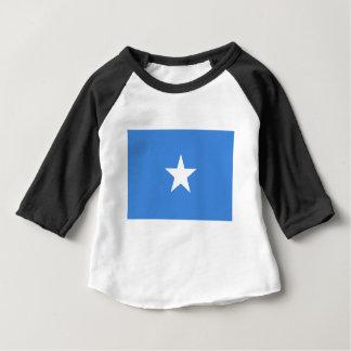 T-shirt Pour Bébé Coût bas ! Drapeau de la Somalie