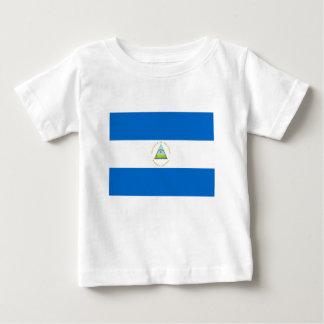 T-shirt Pour Bébé Coût bas ! Drapeau du Nicaragua
